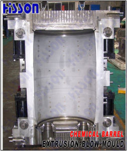 200L Big Chemical Barrel Extrusion Blow Mould pictures & photos