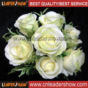 Wedding Flower Bouquet for Bride, Artificial Flower Arrangement