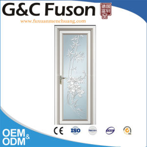 Soundproof Aluminum Commerical Casement Door (FX-15126) pictures & photos