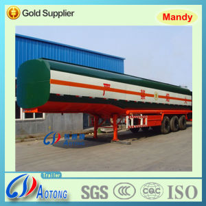Tri-Axle Fuel/Oil Tanker Semi Trailer with Volume Optional pictures & photos
