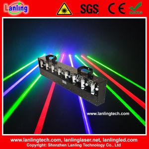 8 Lens RGB DMX Laser Light Show pictures & photos