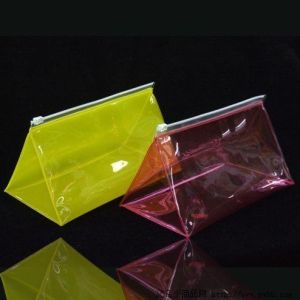 Transparent Plastic Zipper PVC Stationery Bag pictures & photos