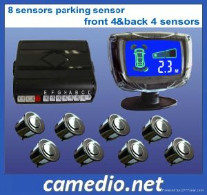 Car Front and Rear LCD Parking Sensor with 4/ 8 Sensors pictures & photos