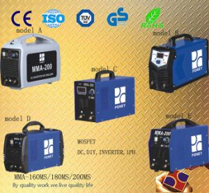 Portable Mosfet DC Inverter Welding Machine (MMA-160/180/200) pictures & photos