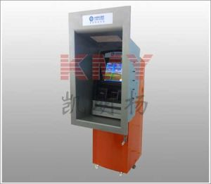 Best Seller Through Wall ATM Terminal, Self Payment Kiosk with Cash Teller (KMY8302) pictures & photos