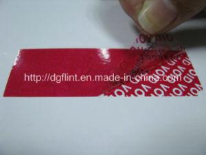 High Residue Tamper Evident Label -2