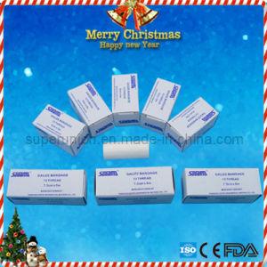 Non-Sterile Medical Cotton Gauze Bandage pictures & photos