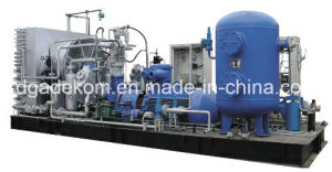 Low Pressure Reciprocating Piston Nactural Gas CNG Compressor (Kdw-80/2) pictures & photos