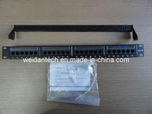 CAT6 UTP 24 Port Patch Panel (WD6A-010) pictures & photos