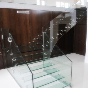 6mm, 8mm, 10mm, 12mm Clear Tempered Glass Railings pictures & photos