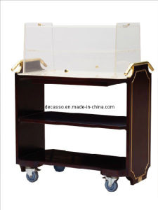 Hotel Cooper Wood Biscuit Cart (DE28) pictures & photos