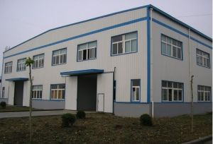 Prefabricated Color Steel Structure Plant (FAX-680031-MA)