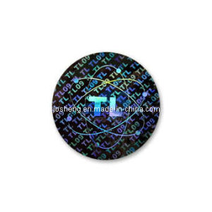 Hot-Stamping PVC Hologram for License Plate (JS00H) pictures & photos