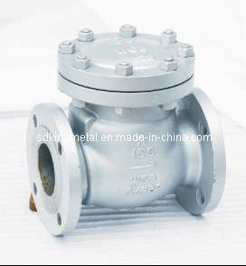 300llbs Cast Steel Swing Check Valves pictures & photos