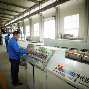 Structured Wall HDPE Pipe Extrusion Line pictures & photos