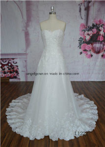 Elegant Chiffon Wedding Dress/Gown Bridal Dress Sexy Hot Sale pictures & photos