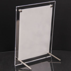 Acrylic Transparent See Through Cast Perspex Canlendar Photo Holder A4 pictures & photos