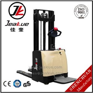 1.2ton 1.5 Ton Certificate EPS Standing on Electric Stacker Price pictures & photos