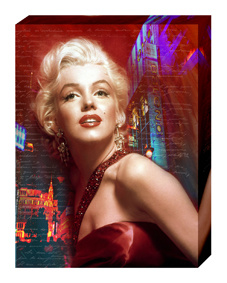 Painting on Canvas-Marilyn Monroe Hot Sex Image Painting