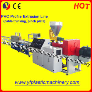 PVC Cable Duct Extrusion Line (SJSZ51/105 Extruder)