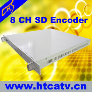 MPEG-4&MPEG-2 Encoder 8 in 1 Mpts Output (HT101-12)