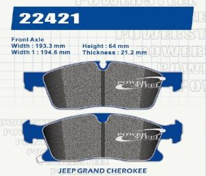 Brake Pad for D1455 Brake Pad for Jeep Grand Cherokee pictures & photos