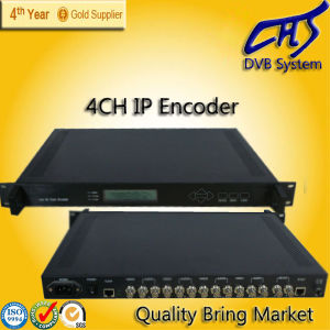 MPEG-2/MPEG-4 IP Encoder with 4 Channels (HT101-13)
