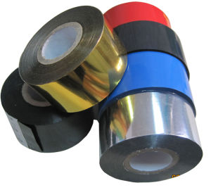 FC3 Type Black Color 25mm*122m Stamping Ribbon