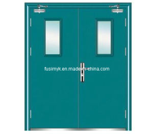 Beautiful design fire proof door(FX-F001D) pictures & photos