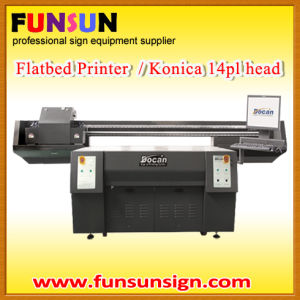Lage Format UV Printing Machine for Flatbed Sheet pictures & photos