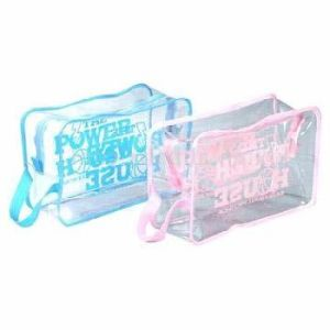 Reusable Eco-Friendly Custom Clear Vinyl Cosmetic Bag pictures & photos