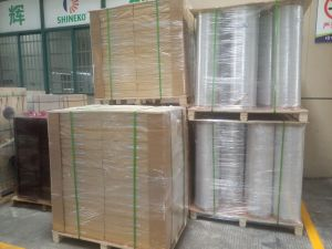 High Quality Transparent PVC Static Protective Film for Label Printing (P6408-T) pictures & photos