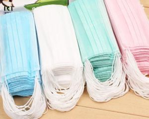 Surgical Face Mask Supplier Ear Loop Tied Cone Types Kxt-FM02 pictures & photos