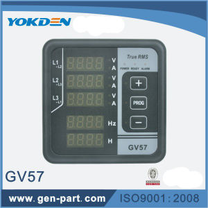 Multi-Functional Digital Panel Frequency Meter GV57 for Genset pictures & photos