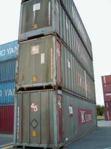 45′ ISO Used Shipping Container pictures & photos