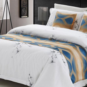 Luxury Jacquard Hotel Bed Runner pictures & photos