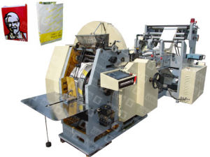 Automatic Paper Food Bag Making Machine (GYHD-400) pictures & photos