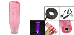"""5.9"""" Angular Gear Shift Knob with Red LED Bubble"""