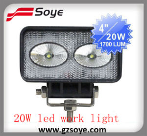 20W 1700lm High Intensity CREE LED Work Lamp, off Road LED Work Light (SY-0920)