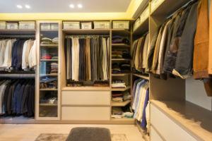 Bedroom Furniture MDF Wardrobe Walk in Closet pictures & photos
