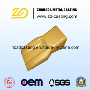 OEM Bucket Tooth with Alloy Steel Investment Casting pictures & photos