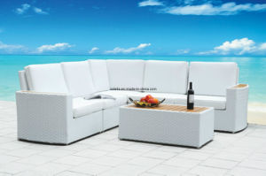 Deluxe Outdoor Patio PE Rattan Sofa pictures & photos