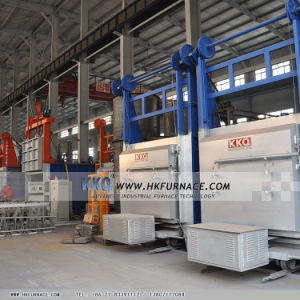 High Precision Bogie Hearth Annealing Furnace pictures & photos