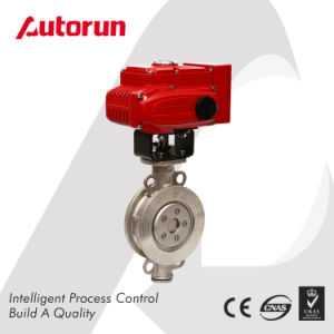 Electric Wafer Ss304/316 Butterfly Valve pictures & photos