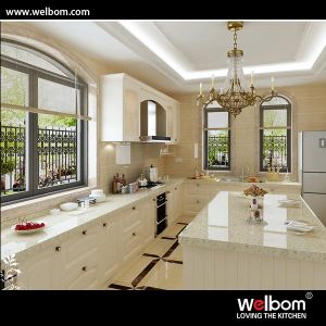 2015 Welbom Custom Oak Wooden Kitchen Cabinet Furniture pictures & photos