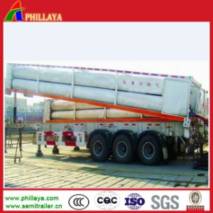 3 Axles Transport CNG Gas Tank Semi Truck Trailer pictures & photos
