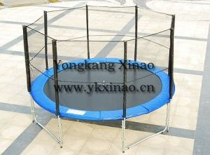 16ft Large Trampoline with Enclosure