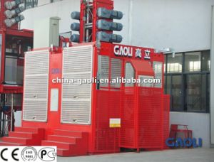 CE Approved Passenger & Material Construction Lifter for High Building/Bridge/Chimney pictures & photos
