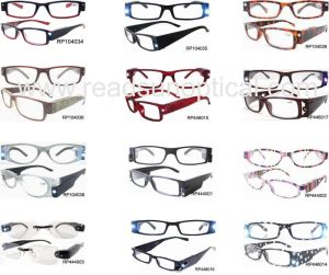 Plastic LED Reading Eyewear Frame (RP446015) pictures & photos