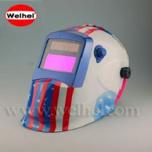 Solar Powered Auto-Darkening Welding Helmet (WH8511201) pictures & photos
